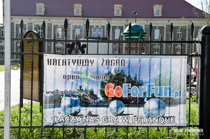VII ŻAGAŃSKI TURNIEJ GRY W BULĘ na terenie Pałacu Książęcego.