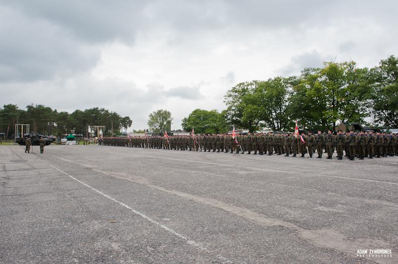 Święto Wojska w 34 Brygadzie