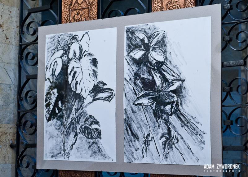 Otwarcie wystawy malarstwa Doroty Kamińskiej w SZDK.19.10.2014