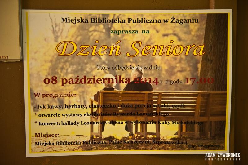 Otwarcie wystawy exlibrysu i koncert gitarowy.