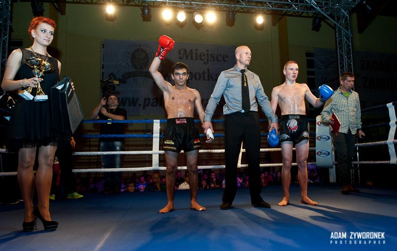 """Międzynarodowa Zawodowa Gala Sportów Walki """"WFMC PRO FIGHT III""""-4 walka"""