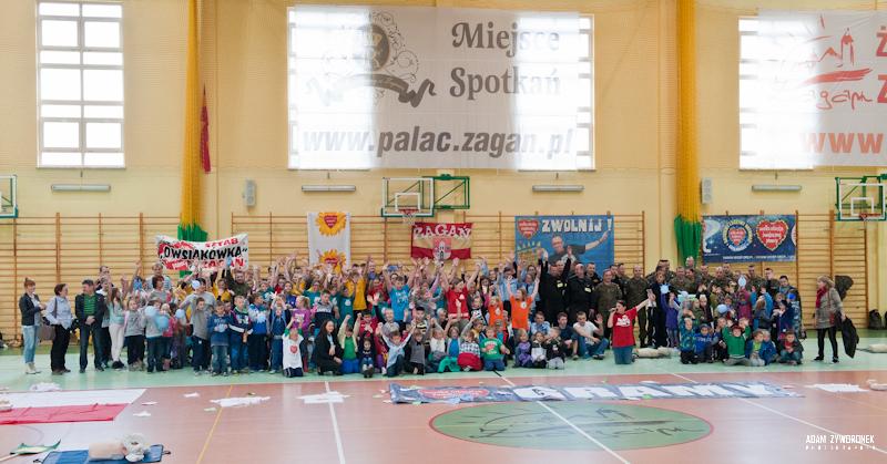 16.10. 2014 Bicie rekordu w Żaganiu.