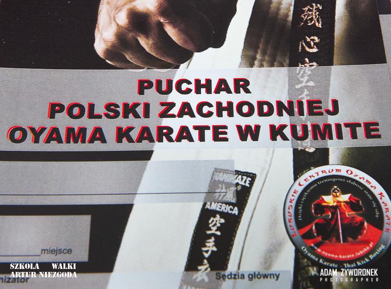 PUCHAR POLSKI ZACHODNIEJ OYAMA KARATE-album 1