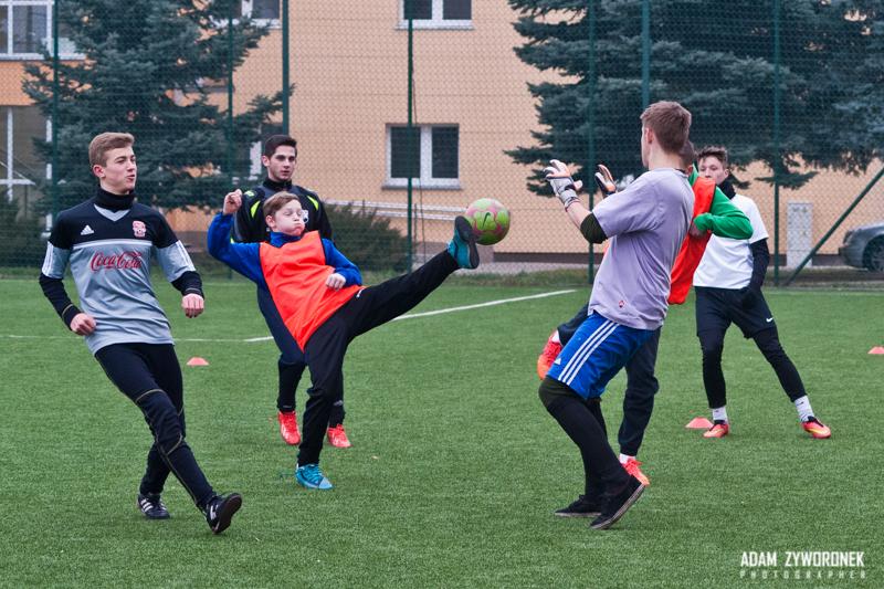 Mikołajkowy Turniej Piłki Nożnej na Arenie.
