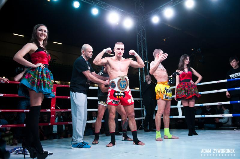 Zawodowa Gala Kick-Boxingu i K1 w Zgorzelcu -Walka W.Wierzbicki – A.Andrenacci