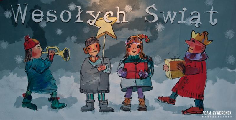 Wigilie w szkołach w Żaganiu