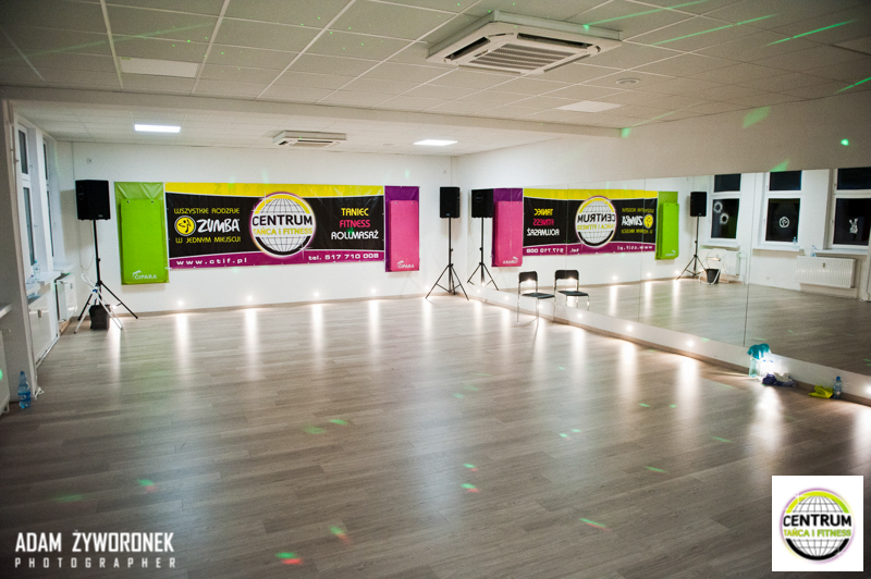 Zumba Fitness Masterclass z Zumba Patrycja Gabrysiak w CTiF w Zielona Góra 27.12.2014