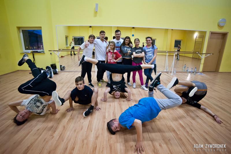 Trening Break Dance i Electric Boogie _Sekcja Centrum Kultury