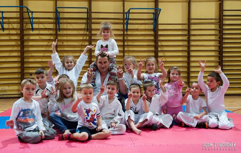 Malinowski Team trening grupy dziecięcej .