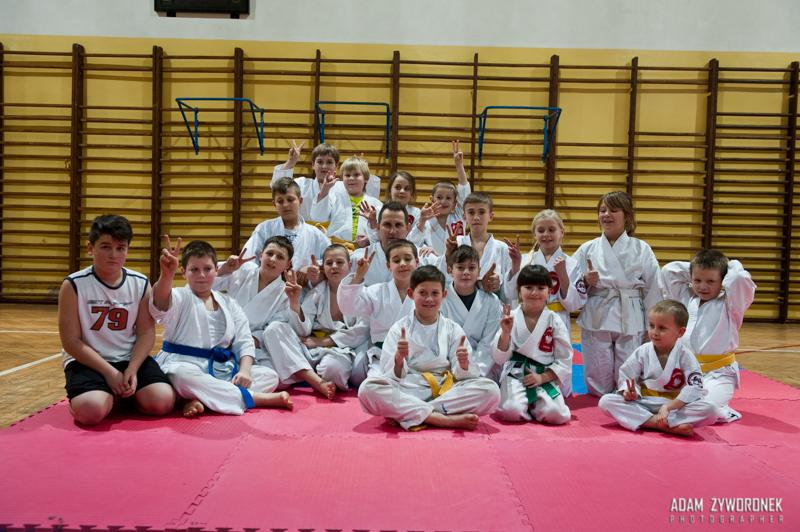 Malinowski Team trening juniorów.
