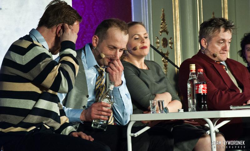 Kabaret Moralnego Niepokoju w Żaganiu .
