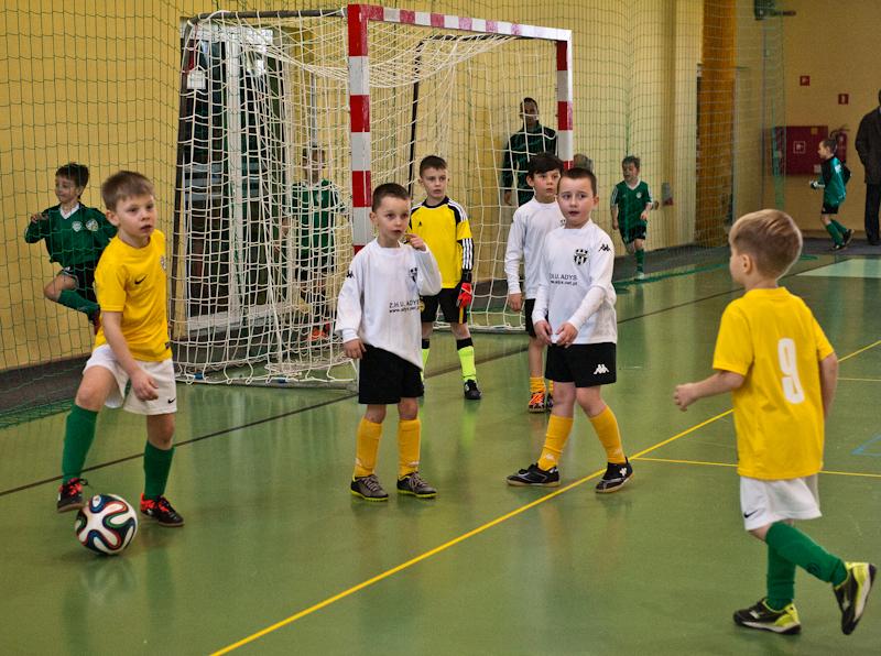 Halowy Turniej Piłki Nożnej w kat.ŻAK 2007 na Arenie w Żaganiu 14.02.2015