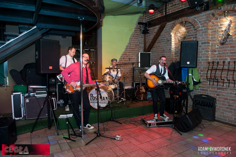 Koncert zespołu The Postaram / Beatlesi z Polkowic w CEGLE w Żarach.