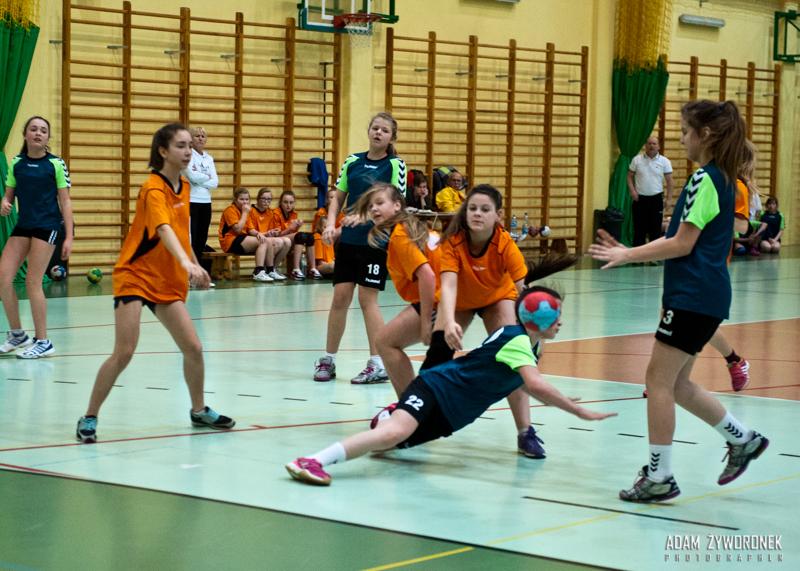 Lubuska Liga Piłki Ręcznej Młodziczki młodsze 01.02.2015 na Arenie