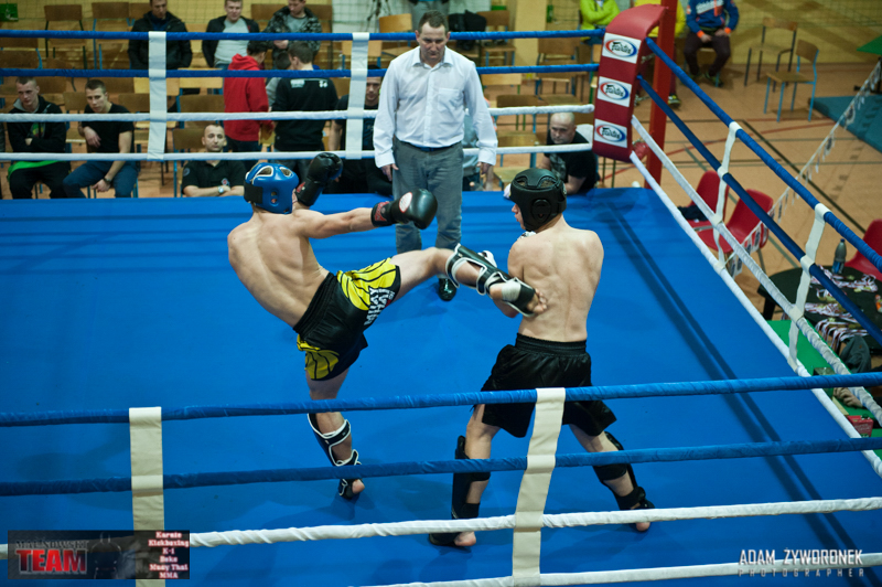 XIV OGÓLNOPOLSKA LIGA WALKOWA WFMC FIGHT NA ZASADACH WFMCK-1 I BOKSU ALBUM 5