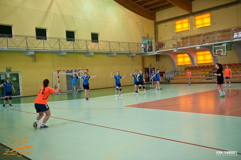 Rozgrywki rejonowe Gimnazjów Piłki Ręcznej Dziewcząt w Żaganiu
