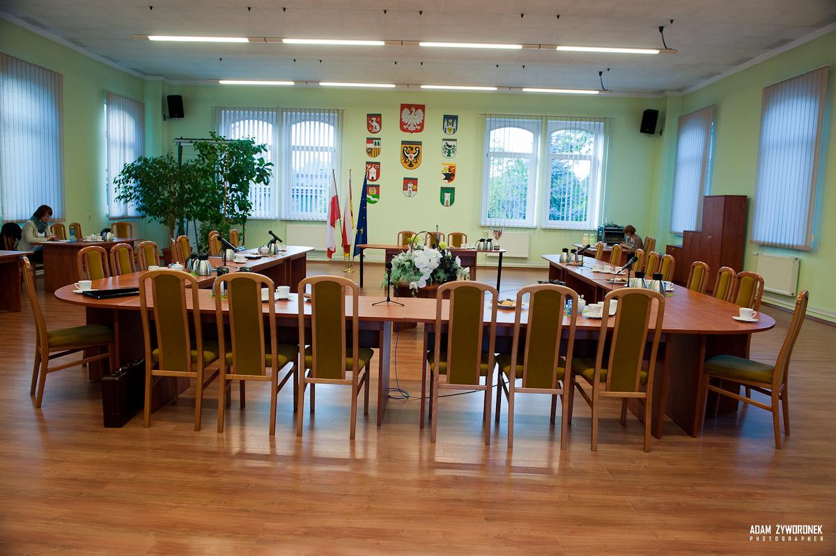 30.09.2015 Sesja Rady Powiatu w Żaganiu.