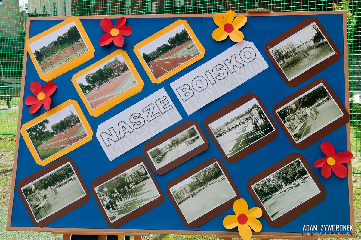 29.09. 2015 PSP 1 w Żaganiu -Otwarcie boiska sportowego.