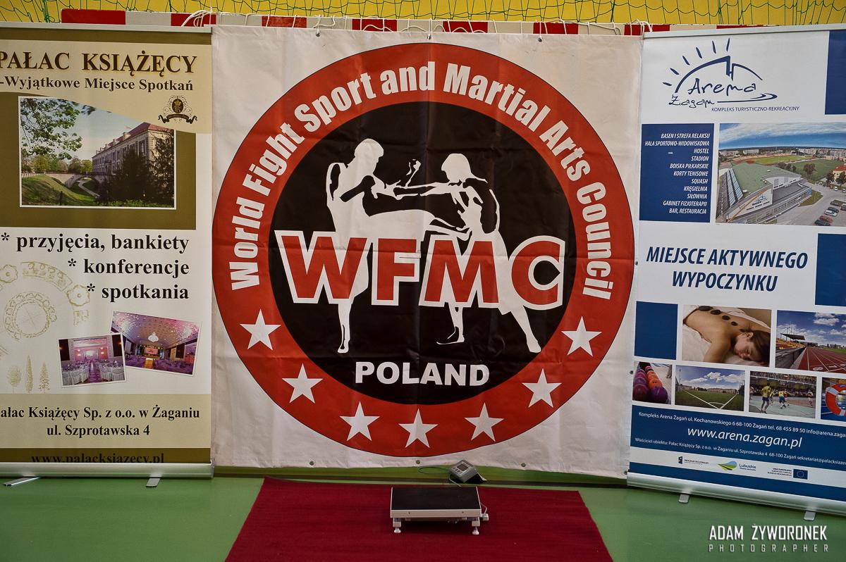 WFMC Pro fight 4-ważenie zawodników w Żaganiu