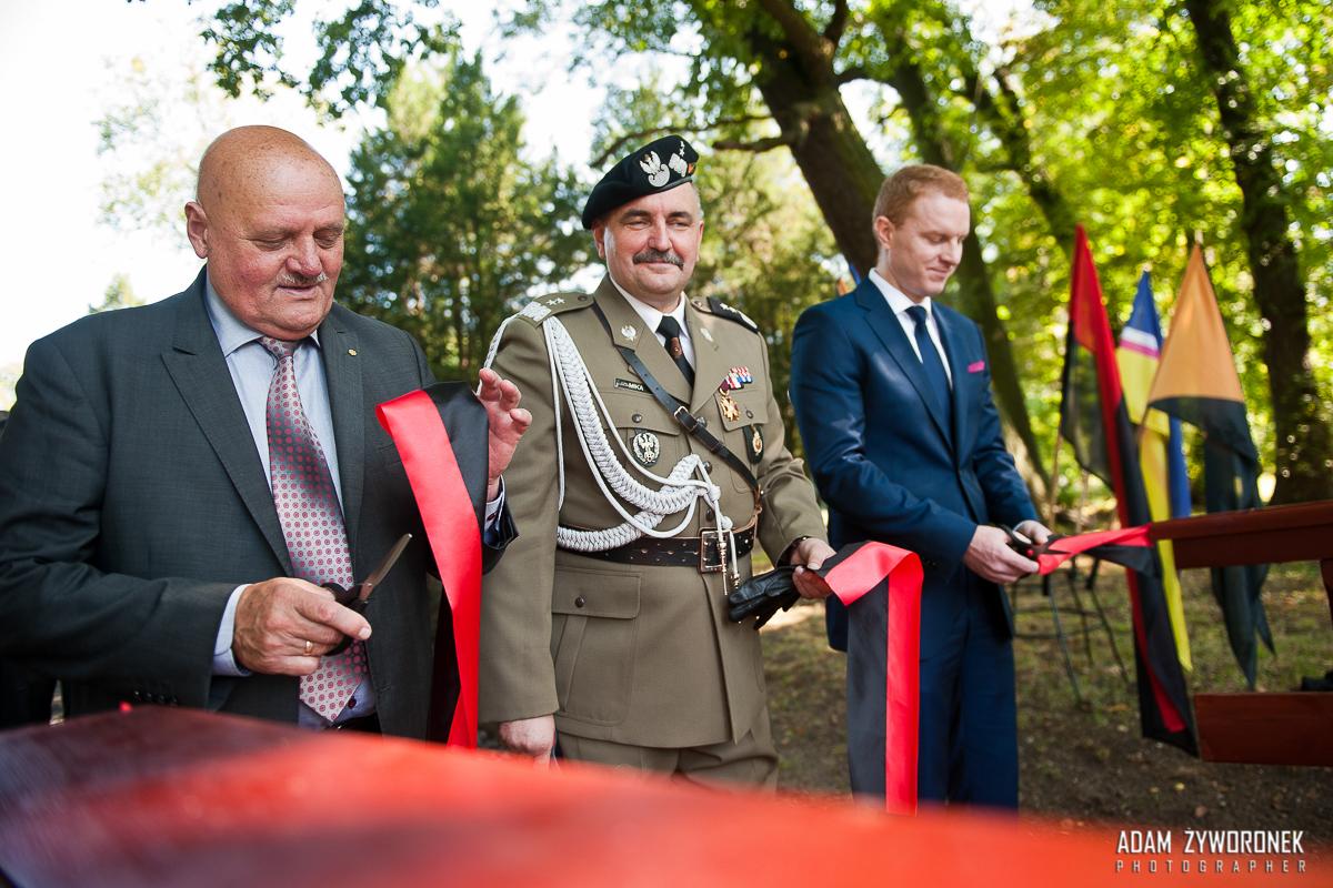 12 września 2015 Otwarcie Mostku w parku w Żaganiu