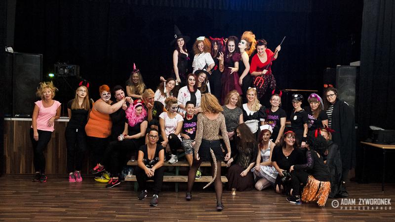 Halloween party w Iłowej z Ewą Zarzycką.