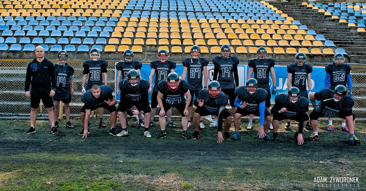 Futbol Amerykański -Żagań Shadows -trening