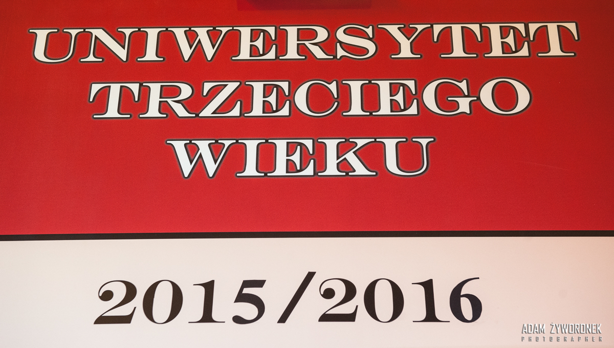 7.10. 2015 Inauguracia roku akademickiego UNIWERSYTET TRZECIEGO WIEKU