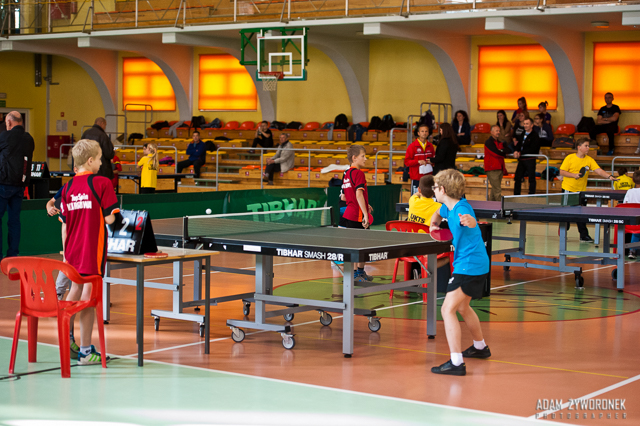 10.10.2015.Turniej kwalifikacyjny Żaków w Tenisie Stołowym w Żaganiu.