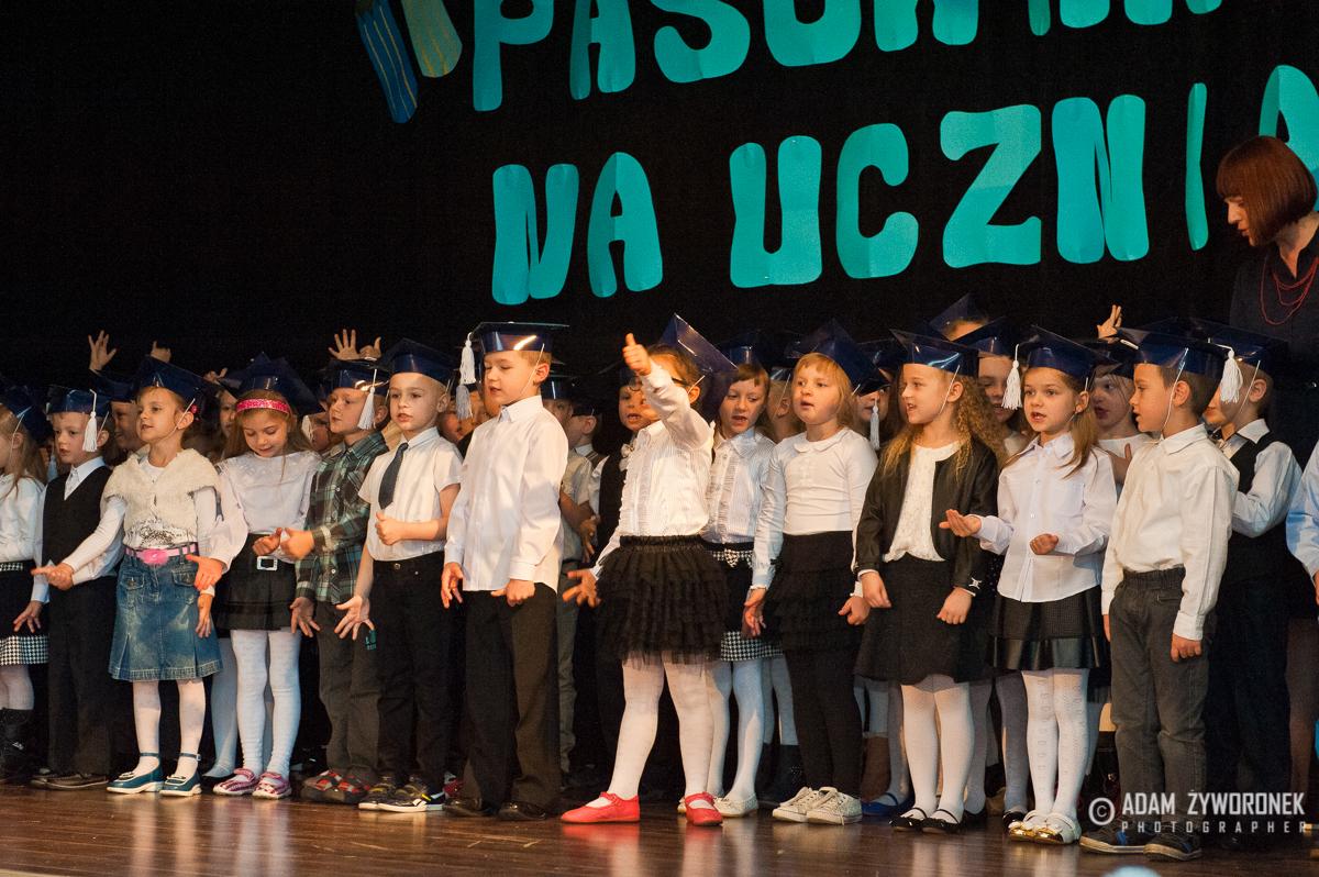 Pasowanie na ucznia w SP w Iłowej