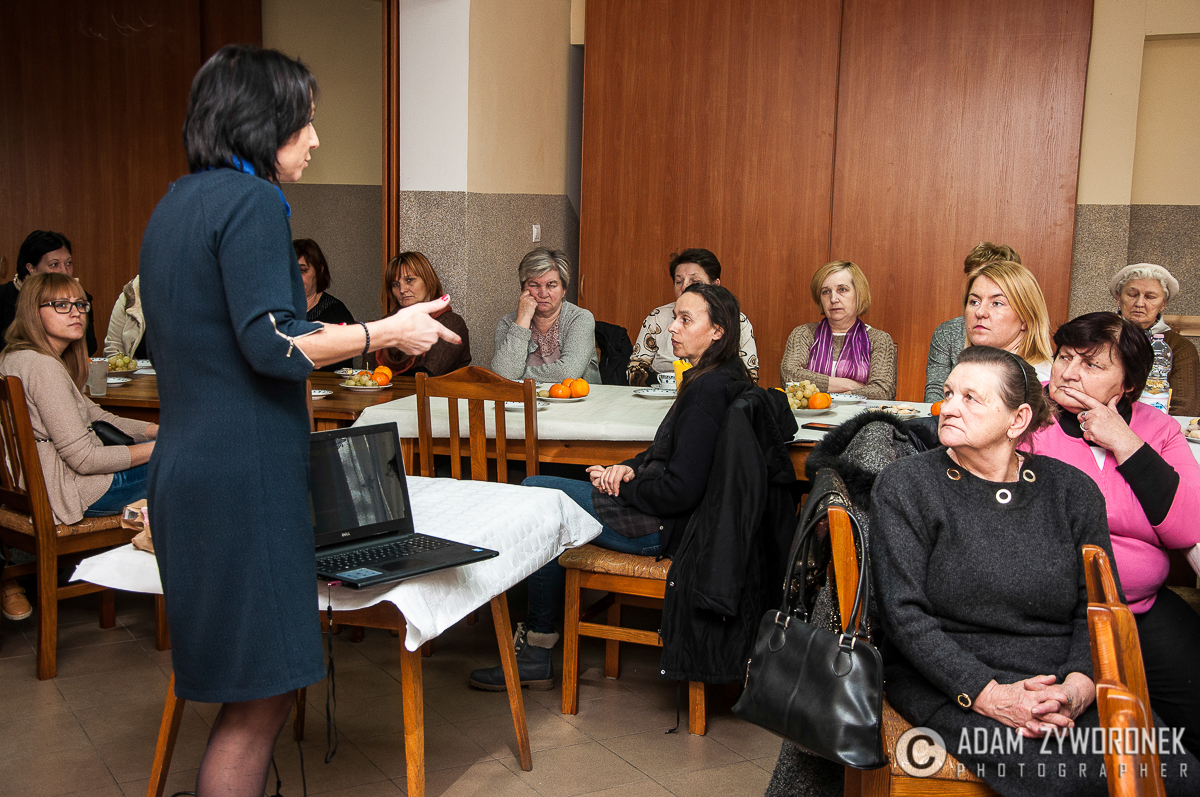 STAROSTWO POWIATOWE W ŻAGANIU zorganizowało spotkanie dla kobiet z lekarzem w Dzietrzychowicach.