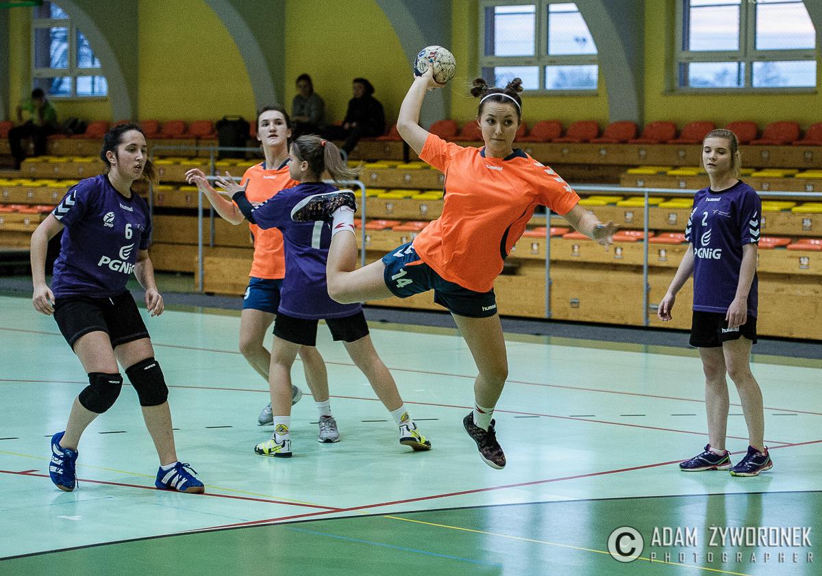 Lubuska Ligia Wojewódzka w piłkę ręczną w kategorii juniorka młodsza Czarni-Sparta 46-18