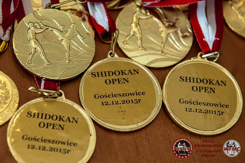 Otwarty Turniej Shidokan Karate Gościeszowice 12.12.2015 rok