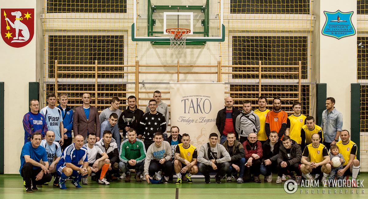 Halowy turniej piłki nożnej o Puchar Burmistrza Gminy Iłowa.