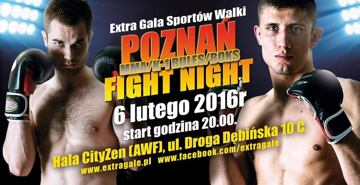 Night of Champions (MMA, K-1 rules, Muay Thai) POZNAŃ 6.02.2016R