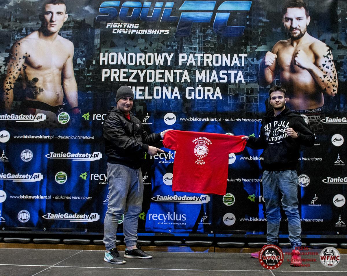 MMA FC SOUL relacja z ważenia