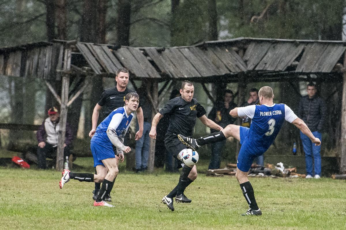 Mecz płomień czerna vs czarni drągowina 1-2