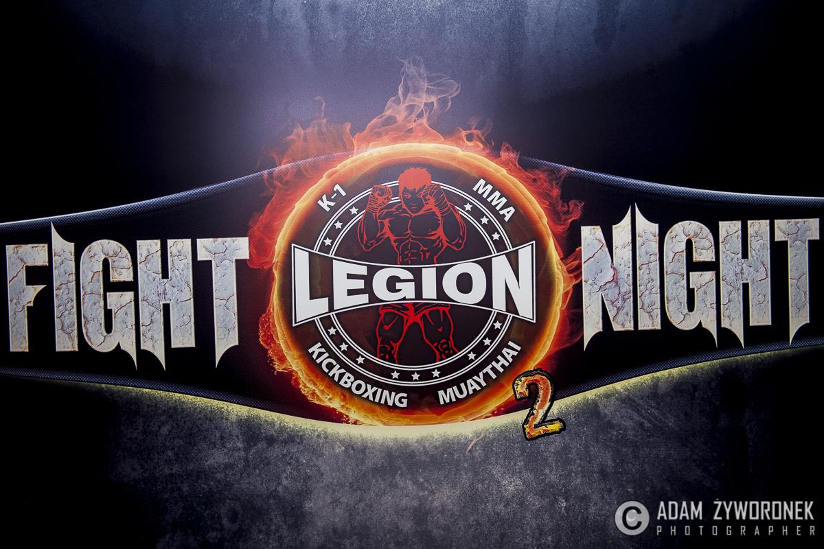 """""""LEGION FIGHT NIGHT 2 """". WAŻENIE ZAWODNIKÓW"""