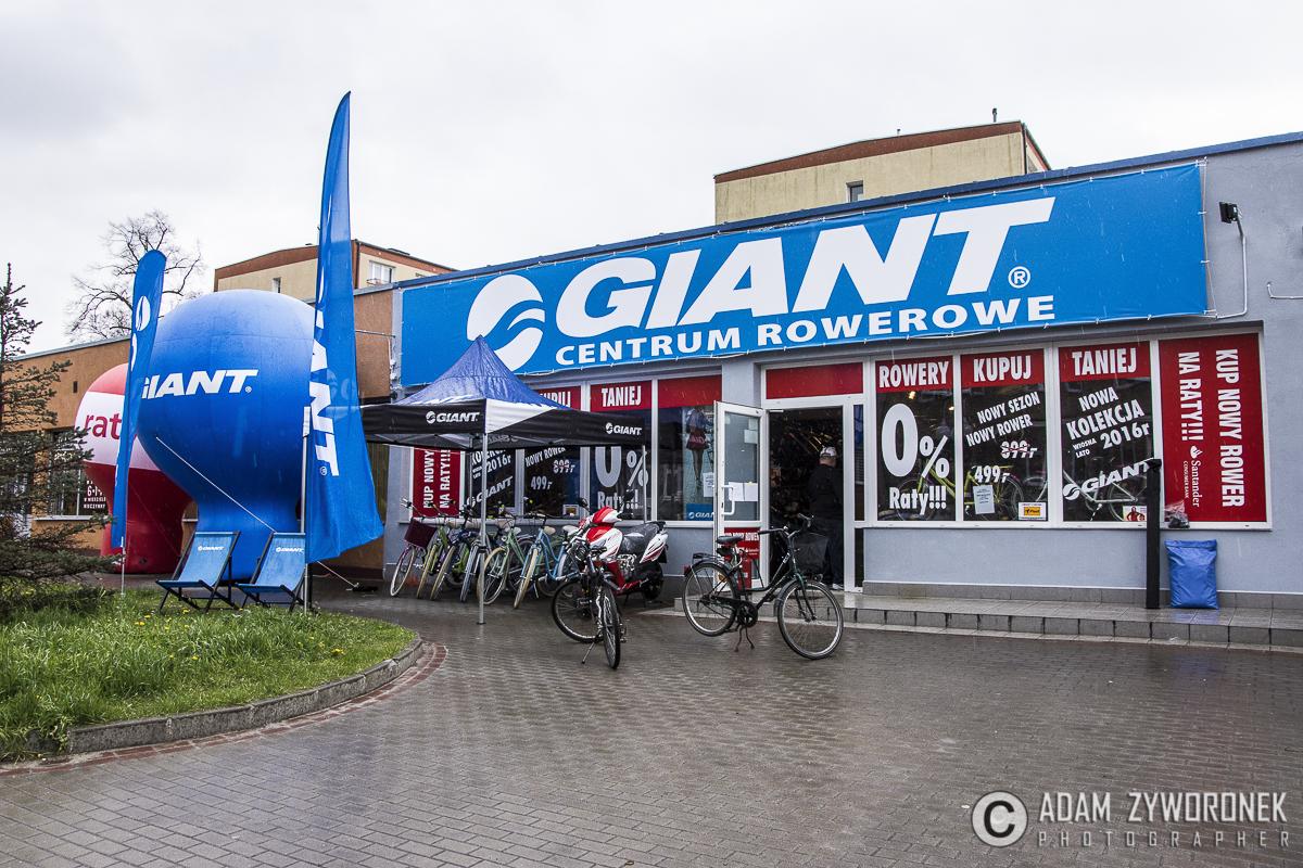 Fotorelacja z otwacia Centrum Rowerowego GIANT w Szprotawie .