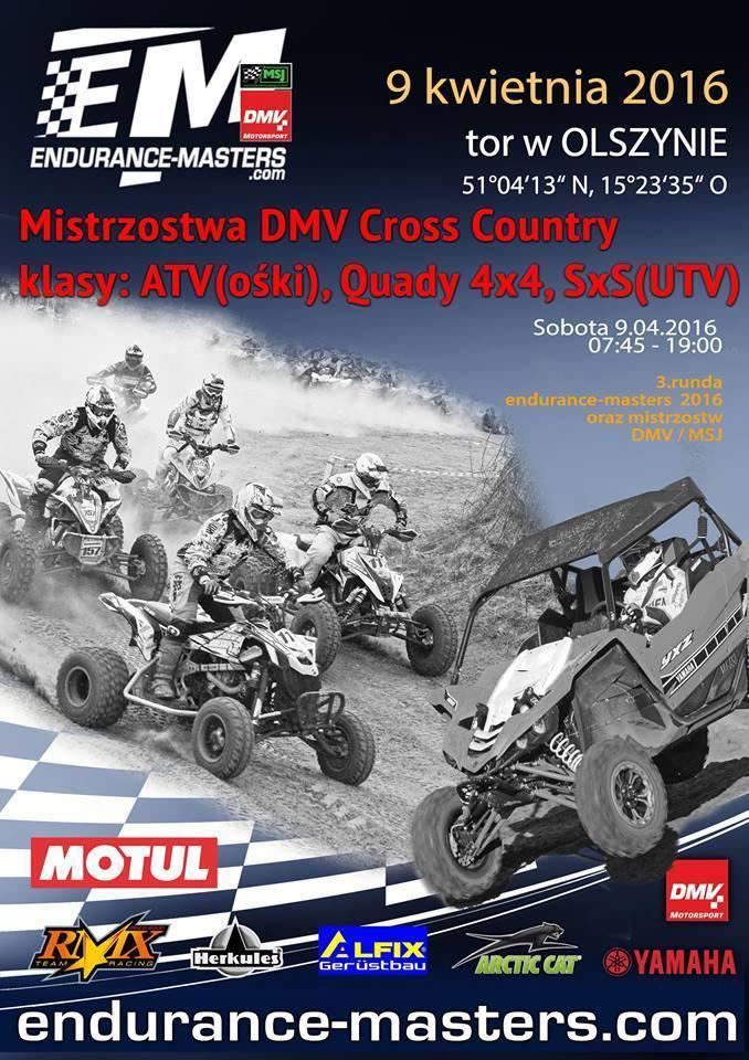 III runda Endurance – Masters czyli niemieckie Mistrzostwa DMV Cross Country Quadów w Olszynie