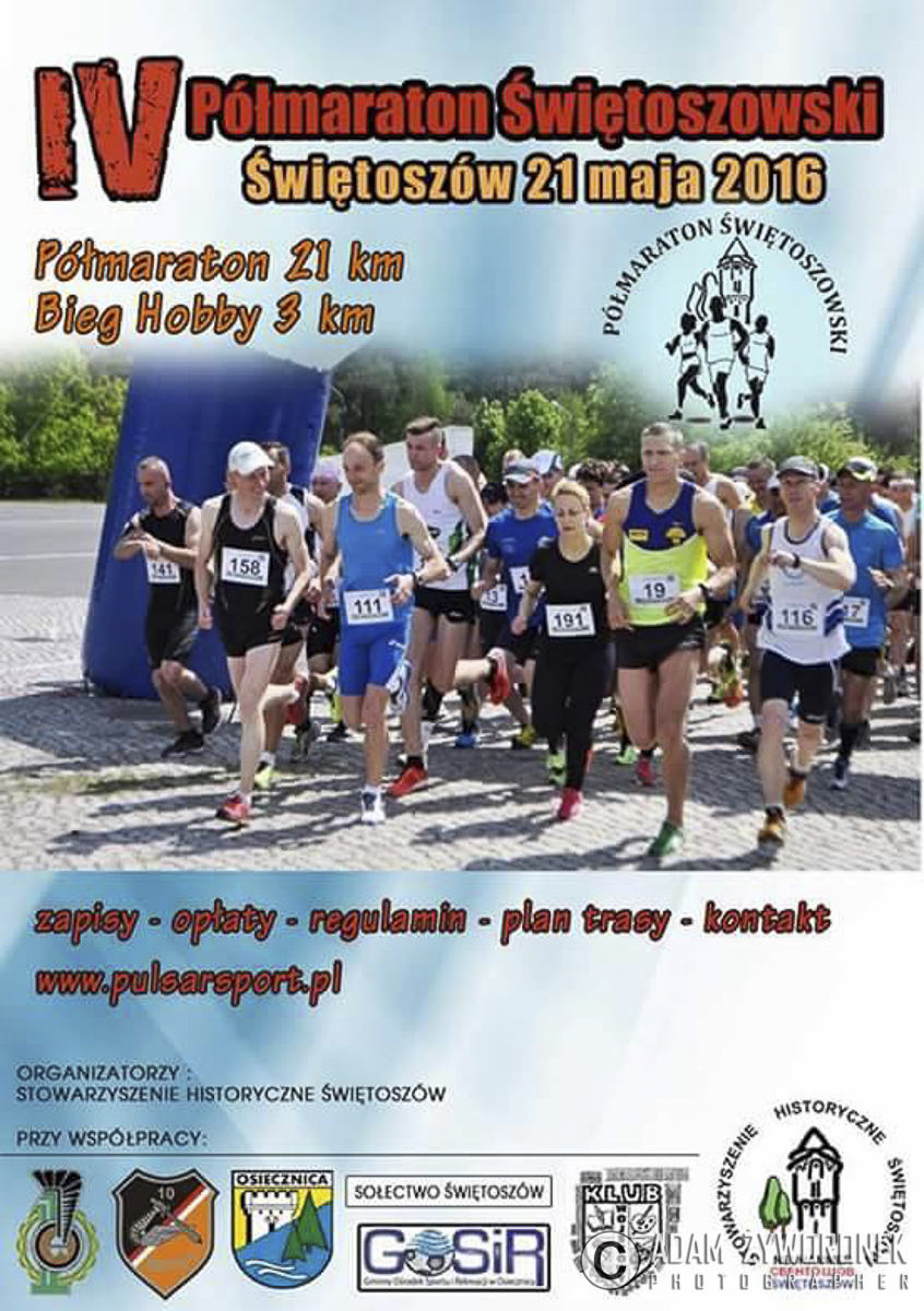 IV Półmaraton Świętoszowski i Bieg Hobby 3 km