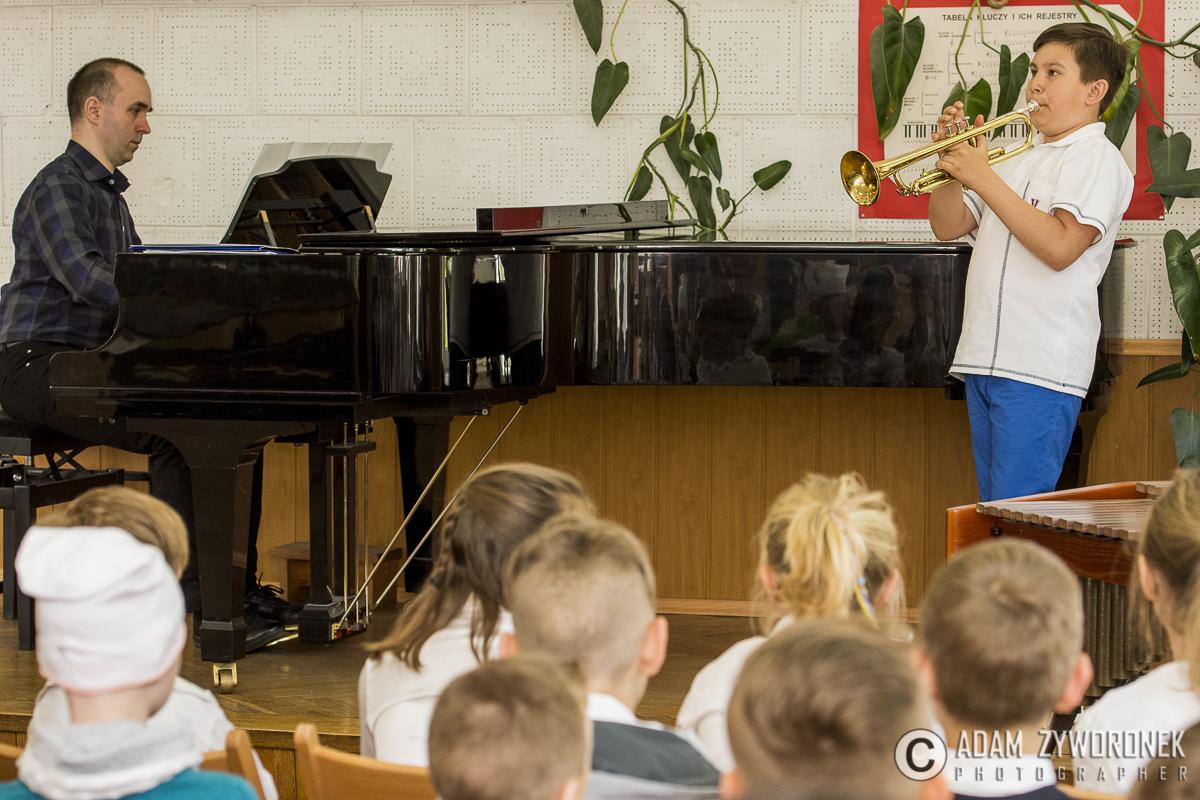 Koncert dla najmłodszych w PSM w Żaganiu.