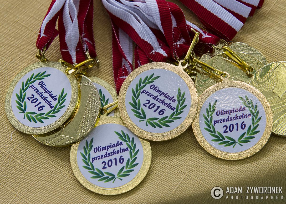 Sportowa Olimpiada Przedszkolaków w Iłowej
