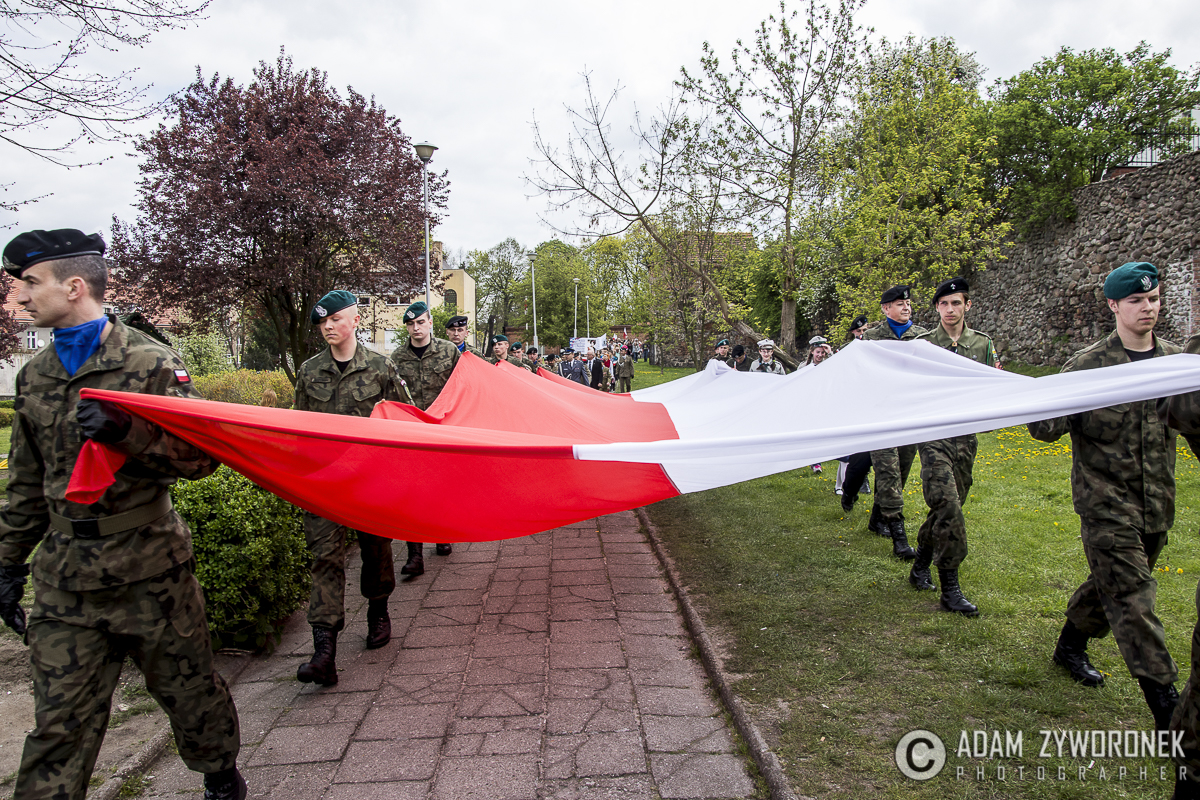 Dzień Flagi w Żaganiu