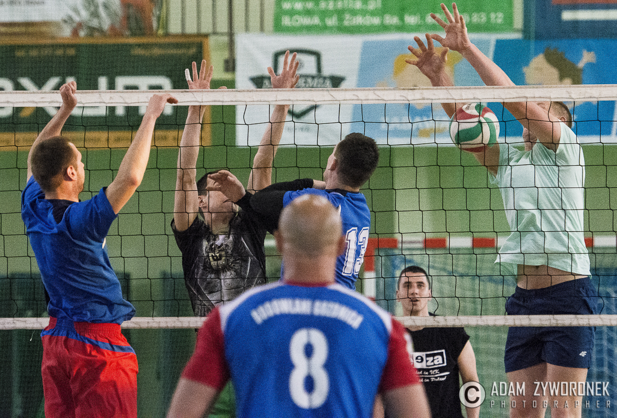Turniej siatkówki mężczyzn w Iłowej.