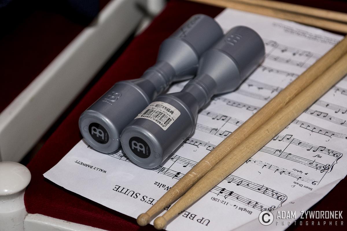 Koncert najmłodszych uczniów PSM , sekcji instrumentów dętych, perkusji, akordeonu oraz fortepianu.