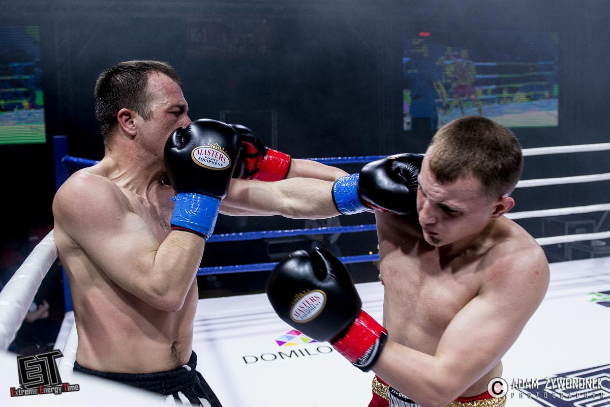 Extreme Energy Time- walka 4 -67 kg: Krzysztof Górski (Prych Team Legnica/TKKF Olimp Legnica) vs. Mateusz Dereweńko (AEP Vorenus Jawor)