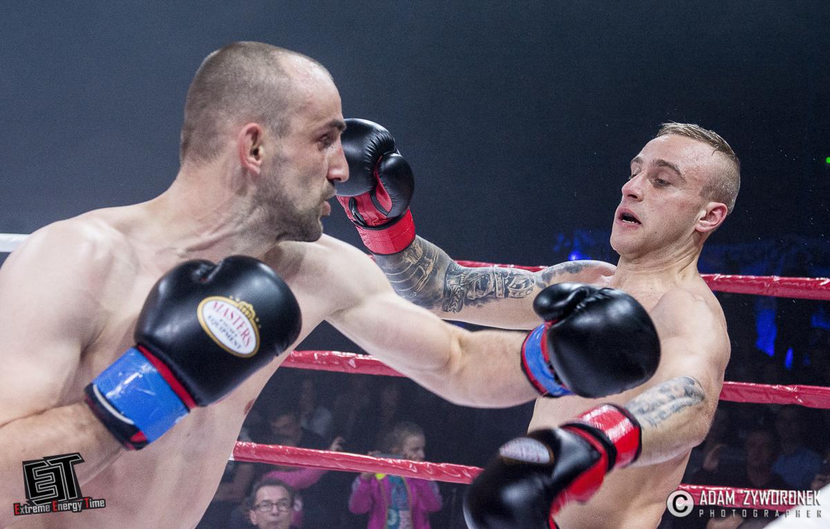Extreme Energy Time walka 8 -75 kg: Dominik Zadora (K.O. Gym Muay Thai Wrocław) vs. Pavel Obozny (Białoruś)