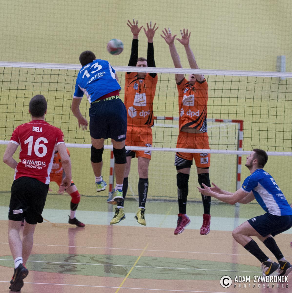 Sobieski Arena vs Gwardia Wrocław 3-1
