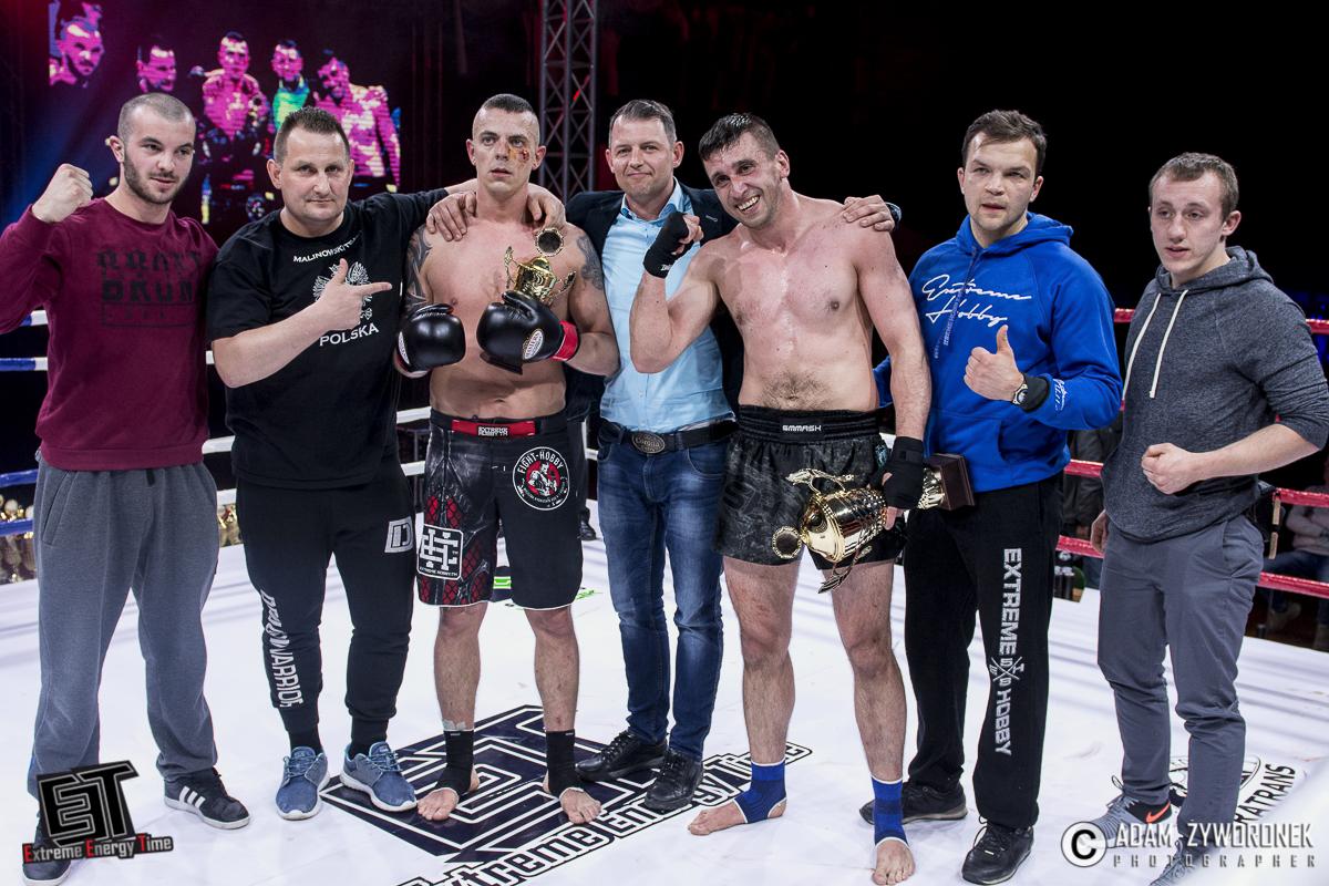Extreme Energy Time walka 2 Rafał Mijas (Fight Hobby Legnica) vs. Andrzej Marciniszyn (Malinowski Team)