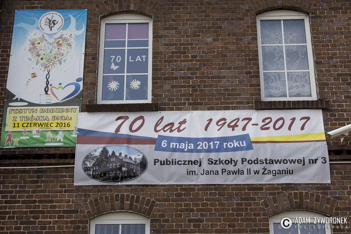 70 lat Sp 3 uroczystości w szkole